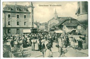 Grenchner Wochenmarkt 1918
